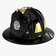 Пожарный шлем 3d model
