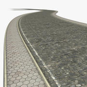 建设者岩路 3d model