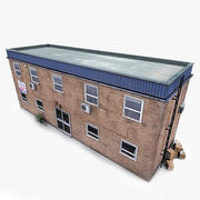 Entrepôt photoréaliste 3d model