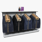 Display voor damesjassen 3d model