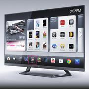 LG 55LM7600 tv led 3d model