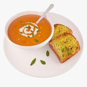 Food Soup D2 3d model