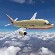 Poludniowo-zachodnie linie lotnicze 3d model