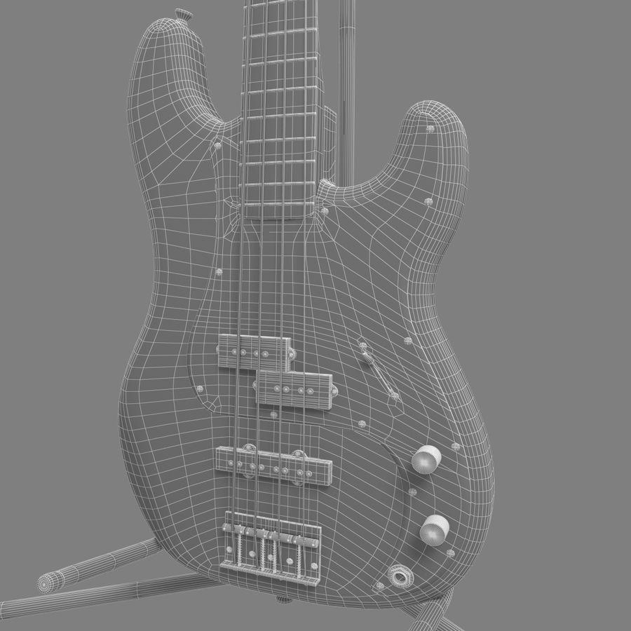 Bajo de precisión royalty-free modelo 3d - Preview no. 10