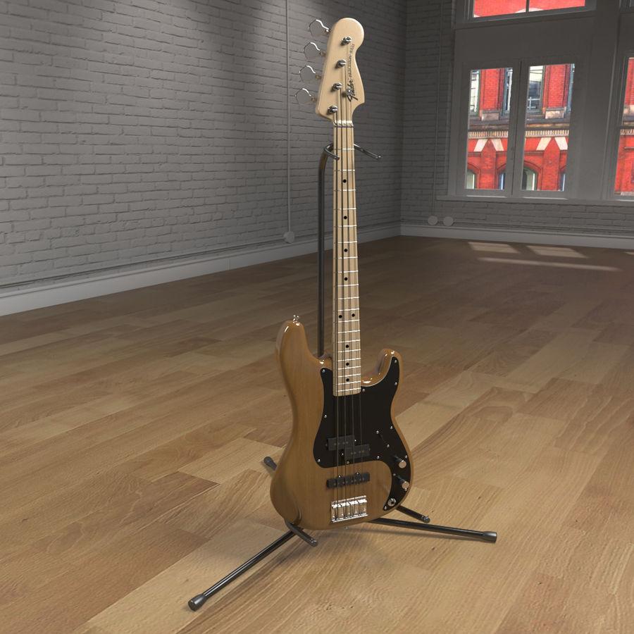 Bajo de precisión royalty-free modelo 3d - Preview no. 2