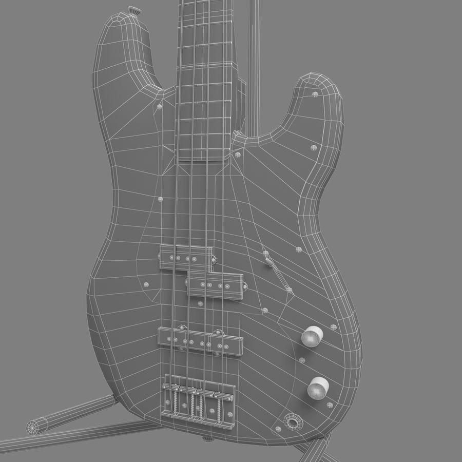 Bajo de precisión royalty-free modelo 3d - Preview no. 9