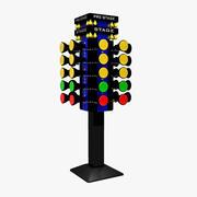 Drag Racing Tree 3d model