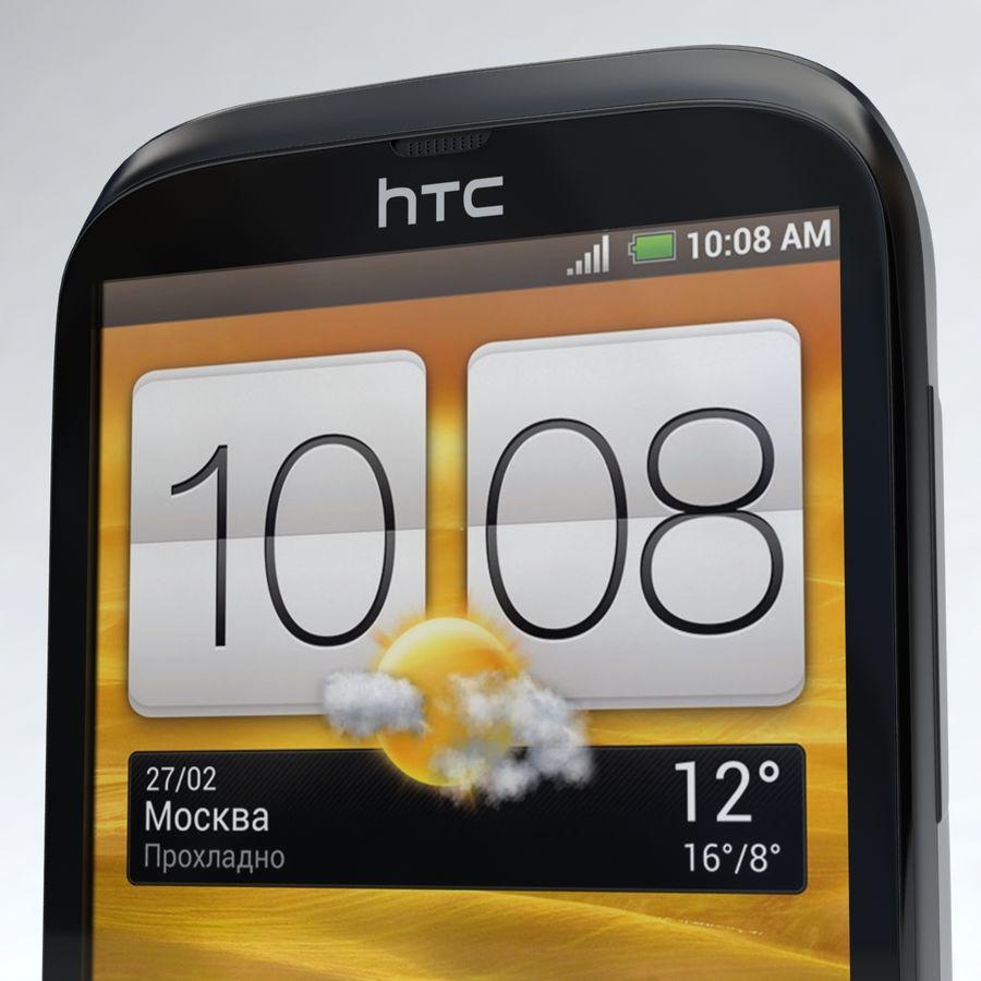 HTC Desire V Schwarz royalty-free 3d model - Preview no. 17