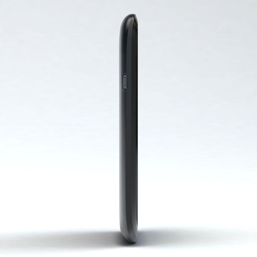 HTC Desire V Schwarz royalty-free 3d model - Preview no. 14