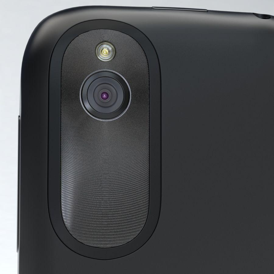 HTC Desire V Schwarz royalty-free 3d model - Preview no. 12