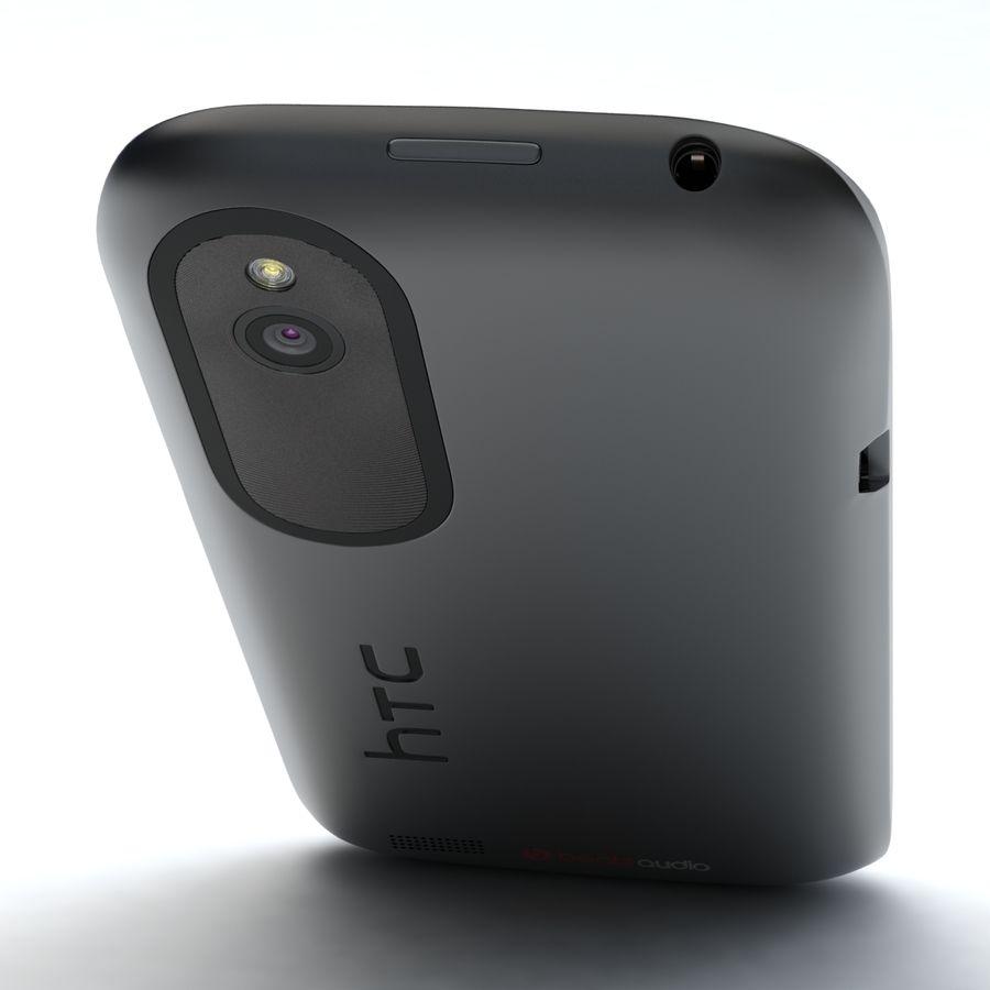 HTC Desire V Schwarz royalty-free 3d model - Preview no. 16