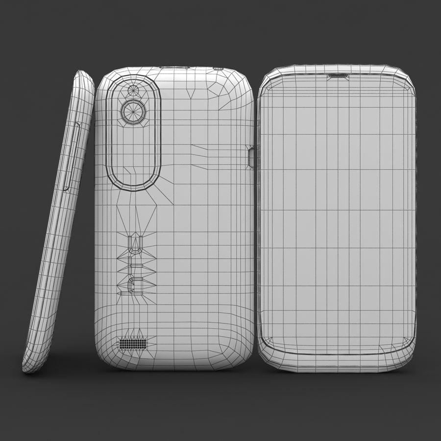HTC Desire V Schwarz royalty-free 3d model - Preview no. 21