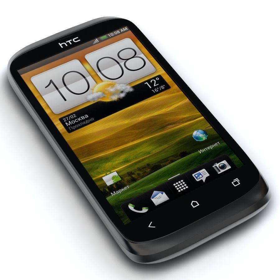 HTC Desire V Schwarz royalty-free 3d model - Preview no. 4