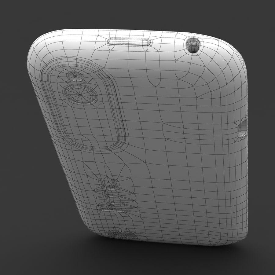 HTC Desire V Schwarz royalty-free 3d model - Preview no. 25