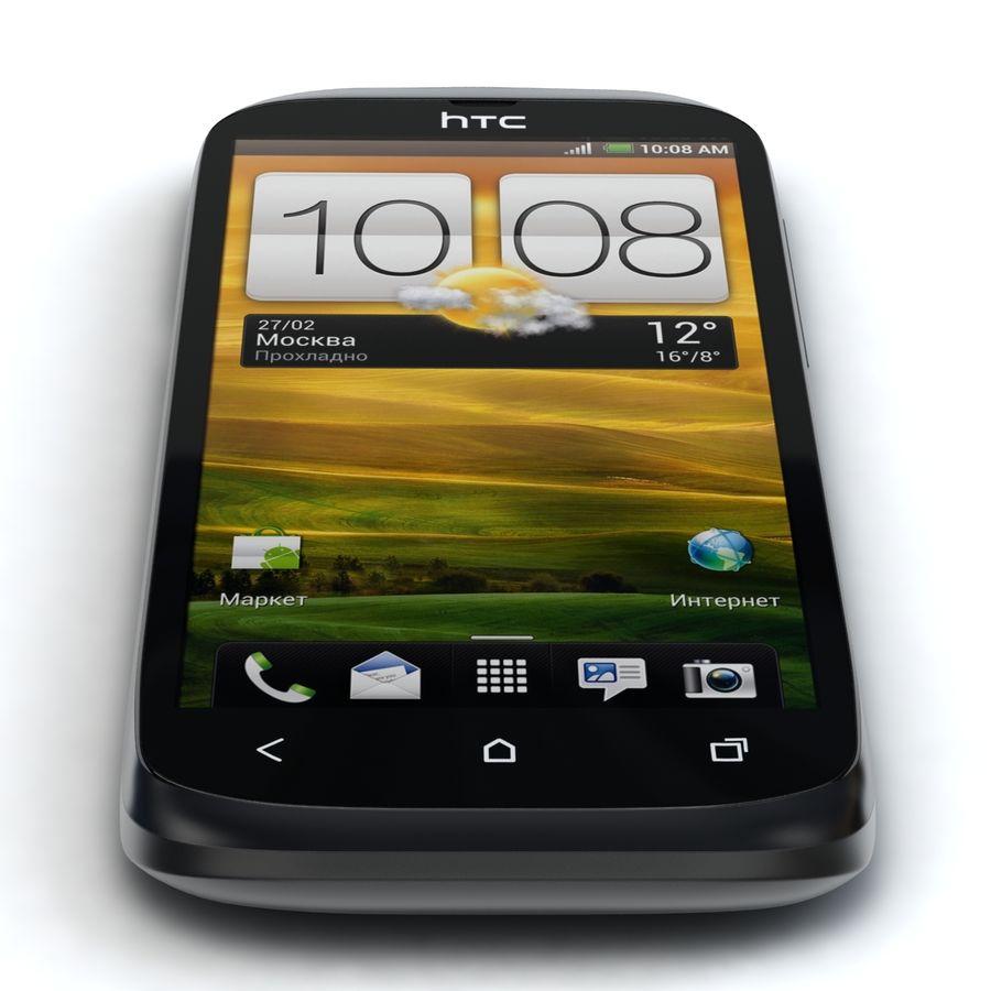HTC Desire V Schwarz royalty-free 3d model - Preview no. 6