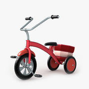 Kids Tricycle 3d model
