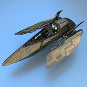 savaşçı 3d model