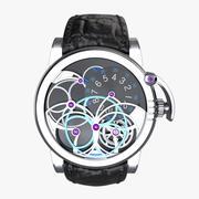 Luksusowy zegarek Harry Winston Opus 7 3d model
