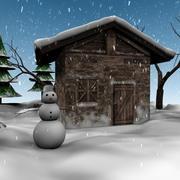 Kış tatili 3d model