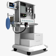 Anesthesia System 3d model