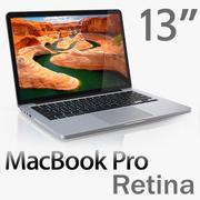 MacBook Pro Retina de 13 pulgadas modelo 3d