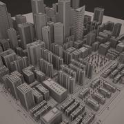 Città Downtown B 3d model