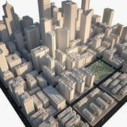 City Downtown B 3d model