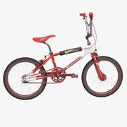 Bicicleta Kuwahara BMX modelo 3d