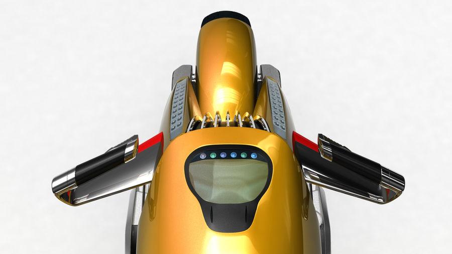 铃木双翼飞机(概念摩托车) royalty-free 3d model - Preview no. 3