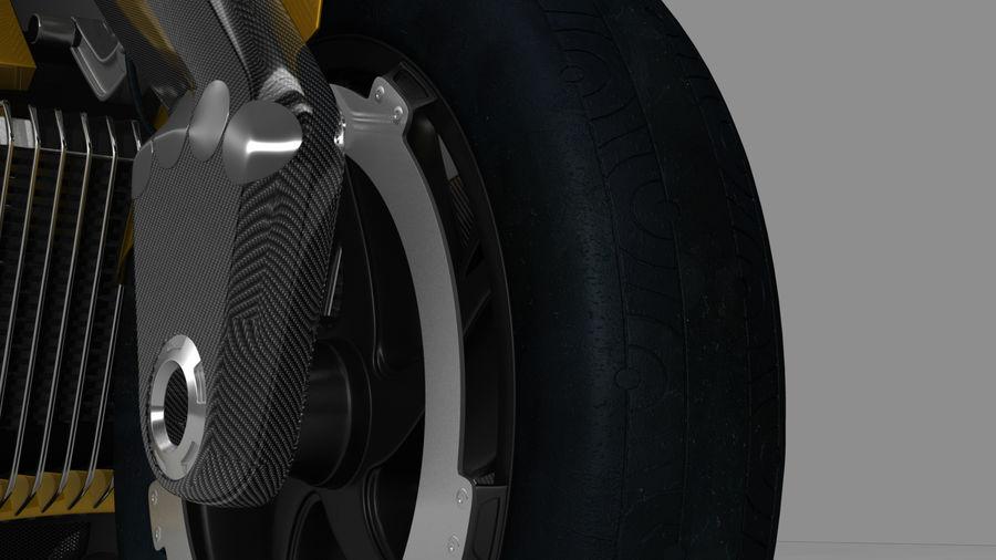 铃木双翼飞机(概念摩托车) royalty-free 3d model - Preview no. 7