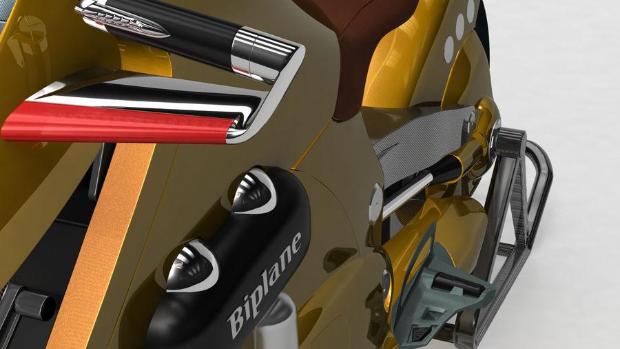 铃木双翼飞机(概念摩托车) royalty-free 3d model - Preview no. 9