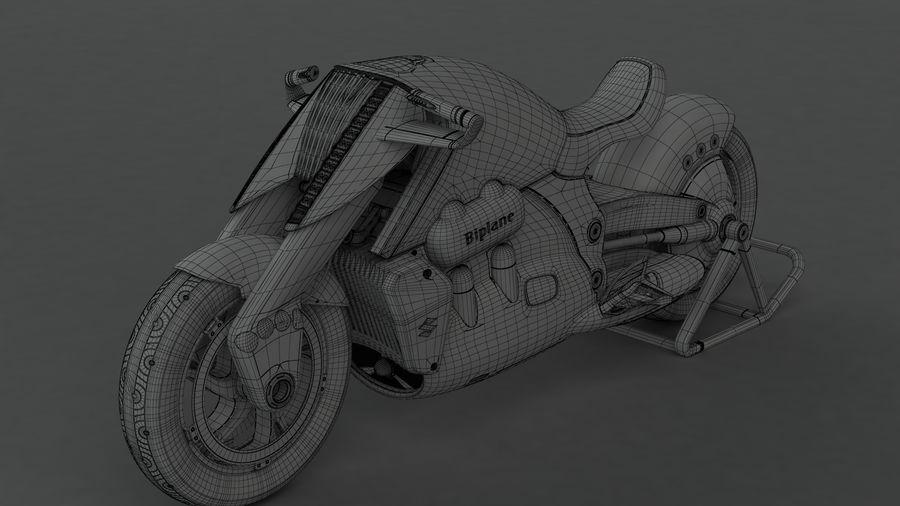 铃木双翼飞机(概念摩托车) royalty-free 3d model - Preview no. 14