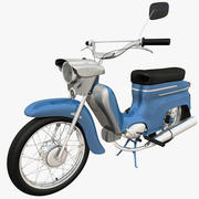 Motocicleta leve 3d model