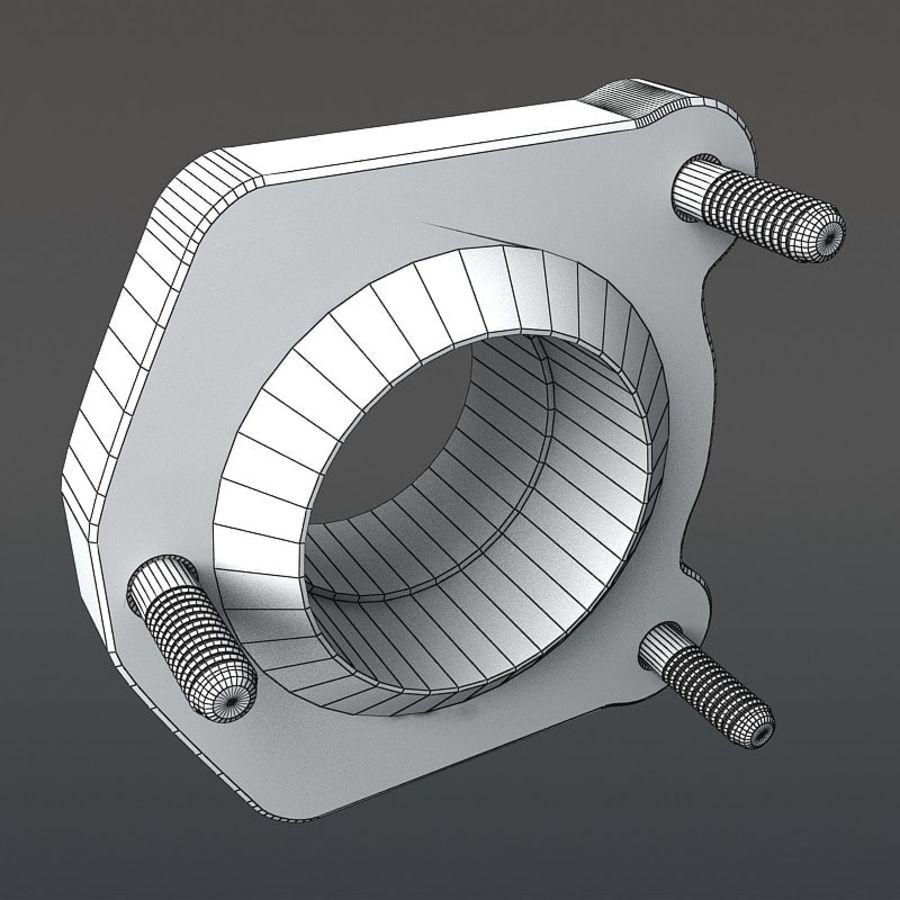 涡轮增压器 royalty-free 3d model - Preview no. 20