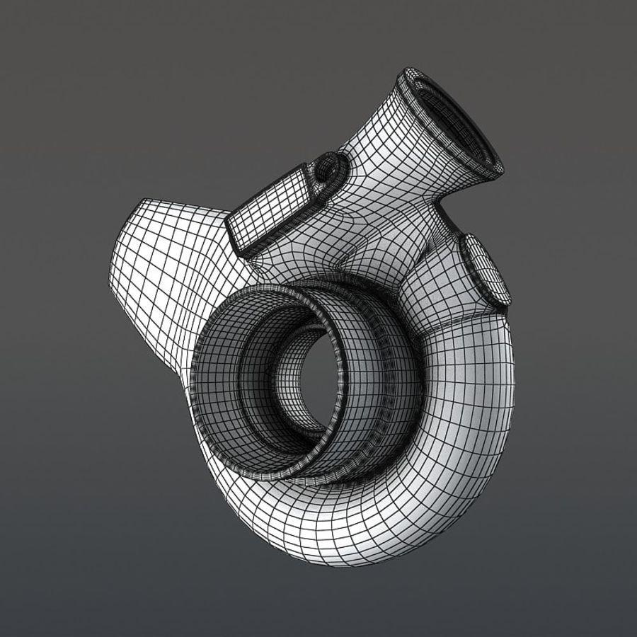 涡轮增压器 royalty-free 3d model - Preview no. 16