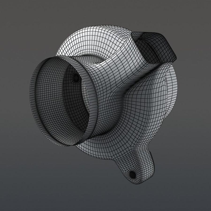 涡轮增压器 royalty-free 3d model - Preview no. 19