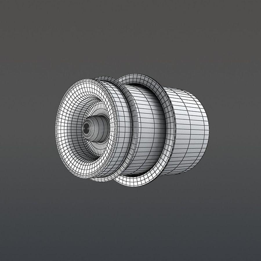 涡轮增压器 royalty-free 3d model - Preview no. 17