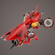 비행 차량-BullKill Anarchy 3d model