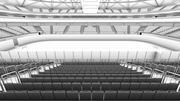 冰上曲棍球竞技场 3d model