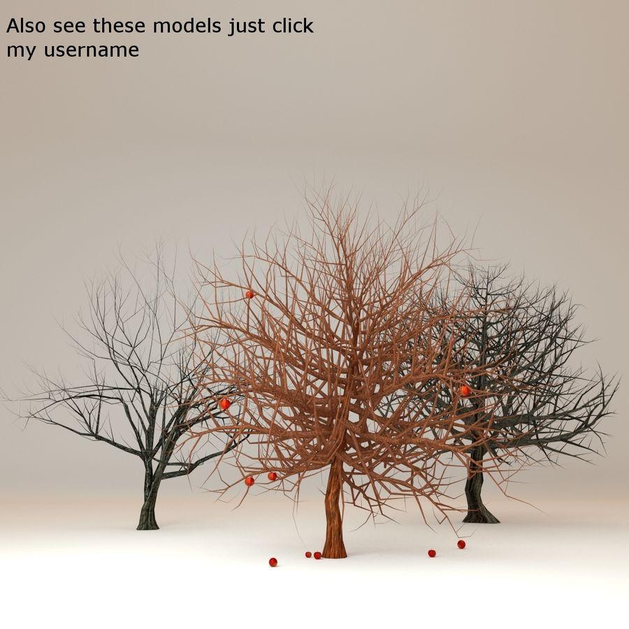 Cherry blossom park royalty-free 3d model - Preview no. 11