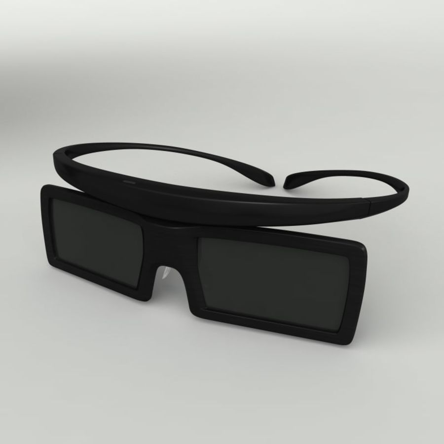Samsung Akıllı TV LED 3D UE40ES6800 royalty-free 3d model - Preview no. 5