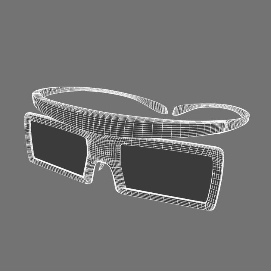 Samsung Akıllı TV LED 3D UE40ES6800 royalty-free 3d model - Preview no. 6
