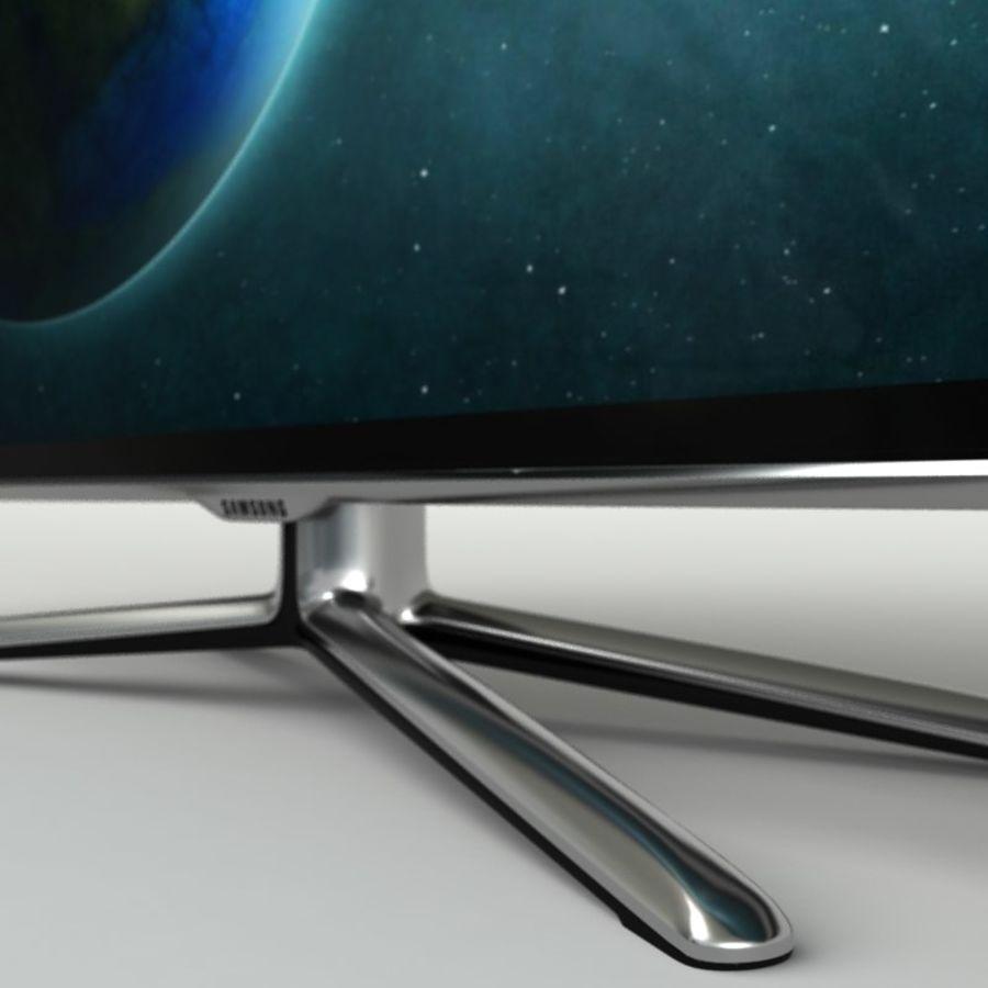 Samsung Akıllı TV LED 3D UE40ES6800 royalty-free 3d model - Preview no. 7