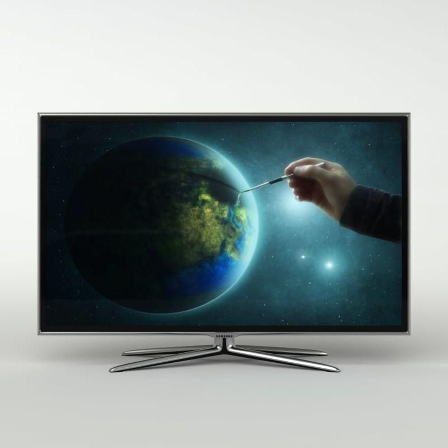 Samsung Akıllı TV LED 3D UE40ES6800 royalty-free 3d model - Preview no. 9
