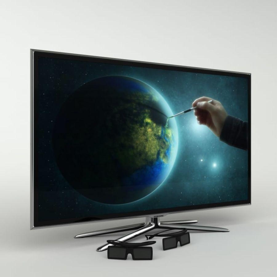 Samsung Akıllı TV LED 3D UE40ES6800 royalty-free 3d model - Preview no. 1