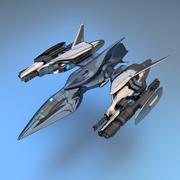 戦士 3d model