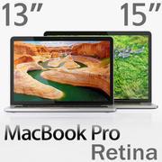 MacBook Pro Retina显示器15英寸和13英寸 3d model