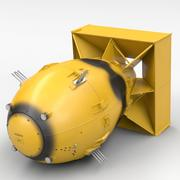ファットマン核爆弾 3d model