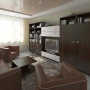 Pokój dzienny 3 3d model