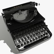Máquina de escribir modelo 3d